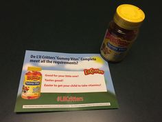 A vitamin my kids ask to take.  #LilCritters #FreeSample
