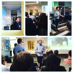 CTO Pitch hier soir chez #myCowork : 7 #startups présentaient leur projet pour séduire la trentaine de CTO présents. CTO Pitch#2 le 28 Avril http://www.meetup.com/fr-FR/Startups-looking-for-developers/