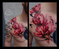 fleur et taches