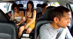 Mulher Filmada a Roubar Gorjetas De Motorista Da Uber