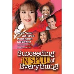 Succeeding In Spite Of Everything is the latest book from Sandra Yancey, founder and CEO of eWomenNetwork, the premier women's business network in North America. This much-anticipated book is full of rich insights, lessons learned and savvy moves that inspire and shake up old paradigms of success. - http://www.amazon.com/dp/0981970893/rawreviewers