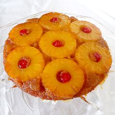 Pineapple Upside-Down Cake: LiveSTRONG With a Taste of Yellow 2009