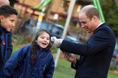Prince William Photos Photos - Prince William, Duke of Cambridge Visits Living Memory And Centenary Fields Projects on November 10, 2016 in London, England. Launched by His Royal Highness in 2014 and in partnership with the Royal British Legion, Centenary Fields helps remember those who lost their lives during World War I by securing and protecting outdoor recreational space in perpetuity for the benefit of future generations. - The Duke of Cambridge Visits Living Memory And Centenary…