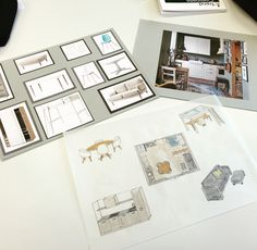 Studentenwoningen interior designer project sketch