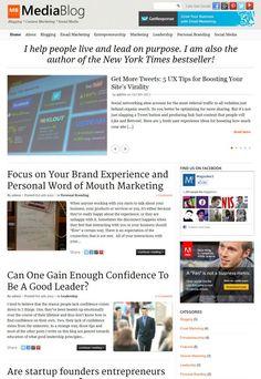 MediaBlog WordPress Theme - Magazine3