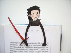 Kylo Ren BB8 Rey Finn Poe bookmarks set Star Wars by BigNerdWolf