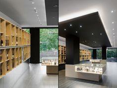 Congresso дас Garrafas винный магазин с Тьягу сделать Vale Arquitectos, Брага - Португалия »Retail Design Blog