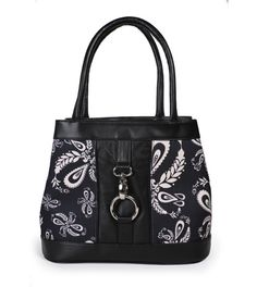 The Nadia - Tucker Paisley.  Soft leather satchel.