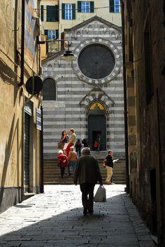 #Genova - Barattini Massimo - Vico di S. Matteo. #Genoa - Alley of St. Matthew. #Italy