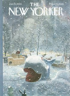 The New Yorker - Saturday, January 25, 1964 - Issue # 2032 - Vol. 39 - N° 49 - Cover by : Garrett Price