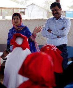 Pour son 19e anniversaire, la militante Malala Yousafzai a visité le camp de réfugiés de Dadaab, au Kenya, menacé de fermeture.