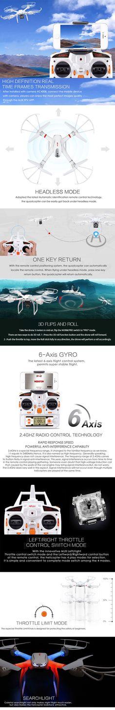 MJX X101 X-Series Drone (Optional FPV Camera) http://www.helipal.com/mjx-x101-x-series-drone.html