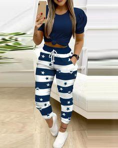 Trend Fashion, Fashion Outfits, Women's Fashion, Fashion Online, Autumn Fashion, Chic Type, Type Of Pants, Drawstring Pants, Skinny Pants