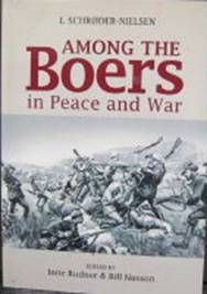 Among the Boers in peace and war by I. Schrøder-Nielsen ....edited by Ione Rudner in co-operation with Bill Nasson .... translated from Norwegian by Jalmar & Ione Rudner. Autobiography of a Norwegian land-surveyor who lived among the Boers & fought for them during the Anglo-Boer War. He was captured near Rustenburg & sent to prisoner-of-war camp in Bermuda. Originally published in Norwegian in 1925. Cape Town, Africana Publishers, 2012.
