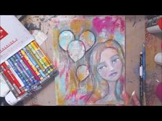 New life for an unliked canvas a canvas redo! - YouTube