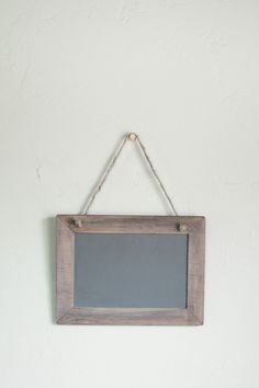 Hanging Chalkboard Sign. $12.00, via Etsy.