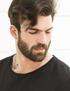 Dimitris Alexandrou New Snaps Handsome Bearded Men, Hairy Men, Hairy Hunks, Mens Facial, Facial Hair, Beard Styles For Men, Hair And Beard Styles, Moustaches, Mens Hairstyles Pompadour