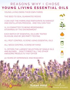 Reasons Why I Chose Young Living Essential Oils - Seed to Seal Guarantee  |  TheConfidentMom.com