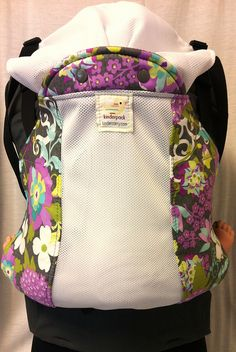 02/20/14 Lilac Blooms with white KN and graphite straps. Extremely limited 1 infant, 2 standards, 1 toddler (no plus), will not be made again.