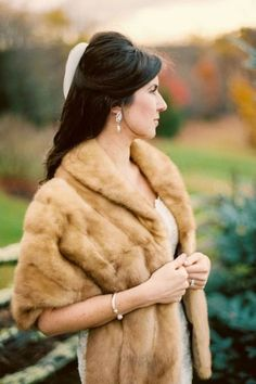 Vintage Furcoats Shop vintage furs for your wedding, special occasion or add a touch of vintage glam to your wardrobe. Pre-loved, heirloom furs at LUXURYVINTAGEGIRL. Winter Wedding Fur, Winter Wonderland Wedding, Winter Weddings, Vintage Fur, Vintage Bridal, Vintage Glamour, Winter Wedding Inspiration, Wedding Ideas, Fur Stole