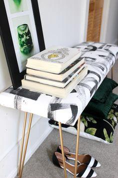 DIY Brushstroke Bench 2