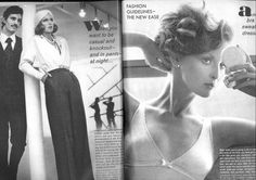 VOGUE JULY 1972 TONY SPINELLI, KAREN GRAHAM AND SAMANTHA JONES