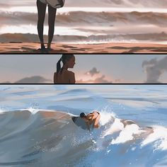 Wanted to do a mini comic strip inspired by the LA culture, was really fun! #girl #surfing #summer #LA #losangeles #santamonica #beach #water #wave #sun #artwork #art #comics #photoshop #sketch #sketching #illustration #ocean #nature #sand #instaart #blue #orange #monochrome #comic #clouds #waves