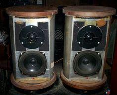 Model JR149 loudspeakers BBC Monitors Audiophile Speakers, Monitor Speakers, Loudspeaker, Acoustic, Bbc, Candle Holders, Model, Cutaway, Vintage