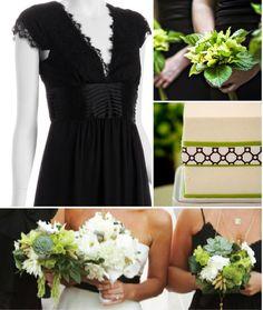black..white..& kelly green