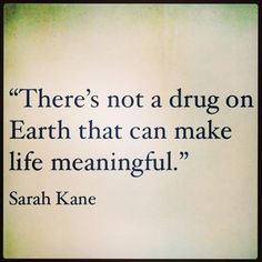 So passionate about this! Proud to never have even thought about trying a drug. Why start? What good can come from it?