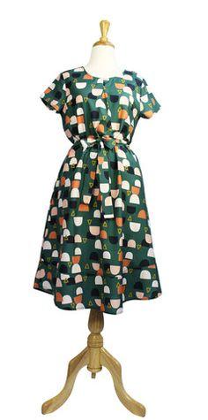 Pleat Dress - Arches BY Miranda Murphy
