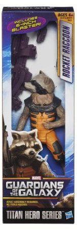 "Rocket Raccoon Guardians of the Galaxy 8"" Titan Hero Action figure"