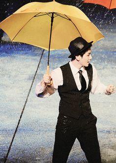 Singing In the Rain starring Byun Baekhyun