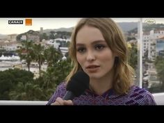 Lily-Rose Depp - French and English Interviews at Cannes