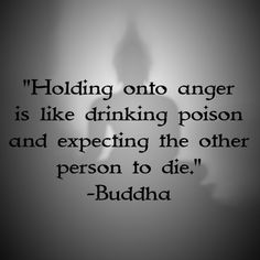I'm not going to lie,I hold in a lot of anger towards people,but I try not to let it affect me so much. It is true that I should be letting it all go instead of keeping it all in,but the things is if I let go of all the hatred,people will think that I'm letting my guard dawn