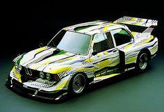 Roy Lichtenstein BMW 320i    #art #cars #popart