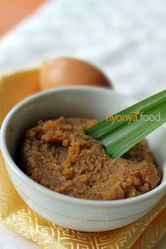Kaya (Nyonya Coconut and Egg Jam)