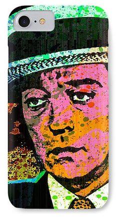 Joseph Frank Buster Keaton IPhone 7 Case featuring the mixed media Buster by Otis Porritt
