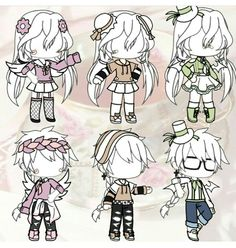 Cute Couple Outfits, Bad Girl Outfits, Club Outfits, Manga Clothes, Drawing Clothes, Club Design, Life Design, Character Outfits, Cute Anime Character