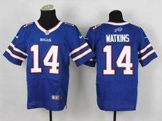 8d0d297f378 ... Nike Buffalo Bills Sammy Watkins Royal Blue Team Color Mens Stitched NFL  New Elite Jersey ...