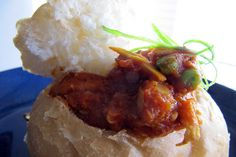 South African Street Food (Bunny Chow): The Aimless Cook - Easy Ethnic Recipes Lentil Patty, Lentil Loaf, Lentil Burgers, West African Food, Leftover Rotisserie Chicken, Sweet Potato Wedges, Recipe Mix, Food Staples, Chow Chow