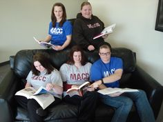 MACC Students a little more serious about studying