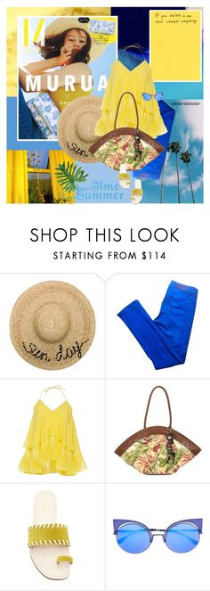 """Good Morning Sunshine"" by rainie-minnie ❤ liked on Polyvore featuring Eugenia Kim, Acne Studios, Rahul Mishra, Patricia Nash and AERIN"