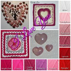 Colour for All Seasons - Crystals & Crochet