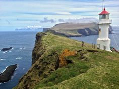 Mykines Lighthouse - Faroe Islands