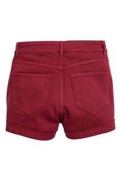 Pantaloni scurți, talie înaltă   H&M