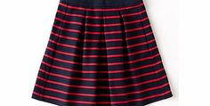 Boden Full Ponte Skirt, Navy/Bright Paint the town red in this fabulously full, pleated skirt in smooth Ponte Roma with stylish side pockets. Try classic Black or stripe it bright. http://www.comparestoreprices.co.uk/skirts/boden-full-ponte-skirt-navy-bright.asp