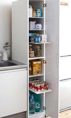 удобные шкафы для маленькой кухни
