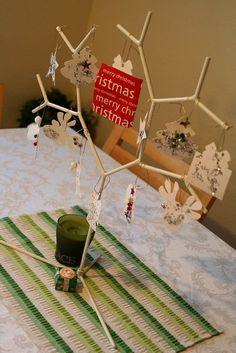 Handmade Christmas Ornament Tree. Be creative and have fun!
