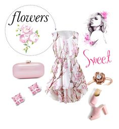 """Flowers!🌹"" by queensilvi ❤ liked on Polyvore featuring Palm Beach Jewelry and Amour"